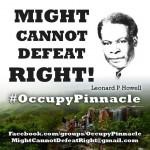 Raíces de Rastafari: #OccupyPinnacle, dando voz al Pináculo