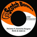 Ponchita Peligros junto a Stalawa edita «Rock and come in» con Scotch Bonnet Records