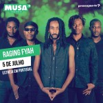 Musa Cascais Confirma a Raging Fyah y Alpha Blondy
