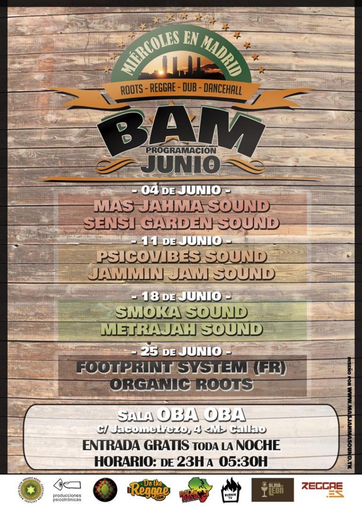 Bam Madrid - JUNIO (Large)