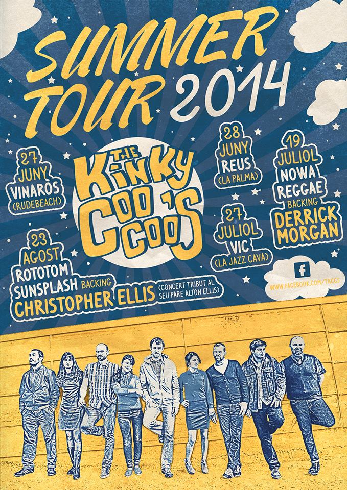 kinky coo coos-summer-tour