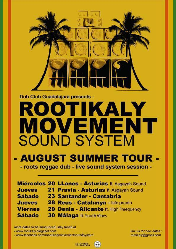 rootikaly summer tour