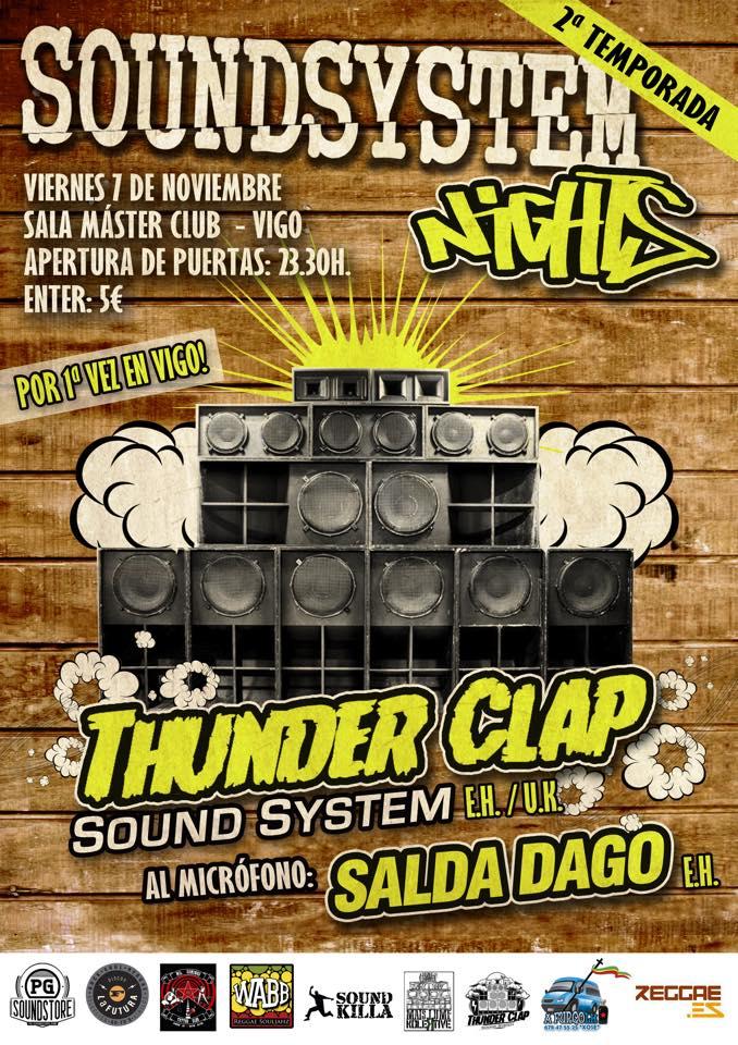 thunder clap-vigo