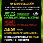 The Jungle tiene nueva programación a partir del 6 de Noviembre