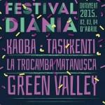 Primeras confirmaciones del Festival Diània, con Green Valley como cabeza de cartel