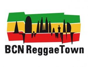 bcn reggae town-logo