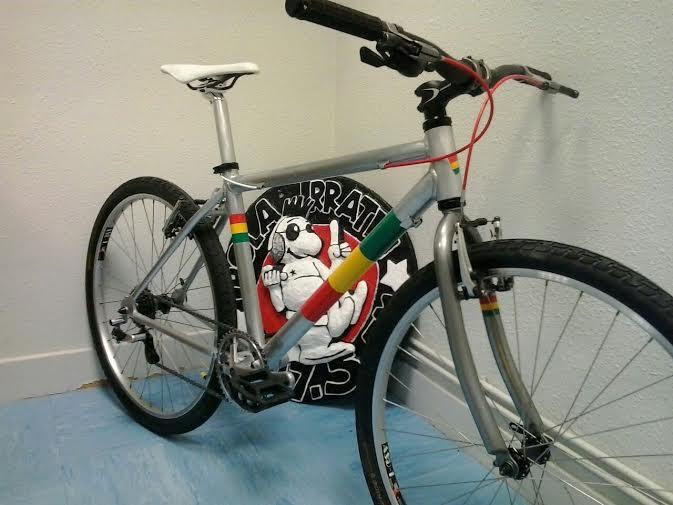 bicicleta rastafari