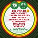 Descubre el cartel definitivo Lagata Reggae Festival 2015 en Zaragoza.