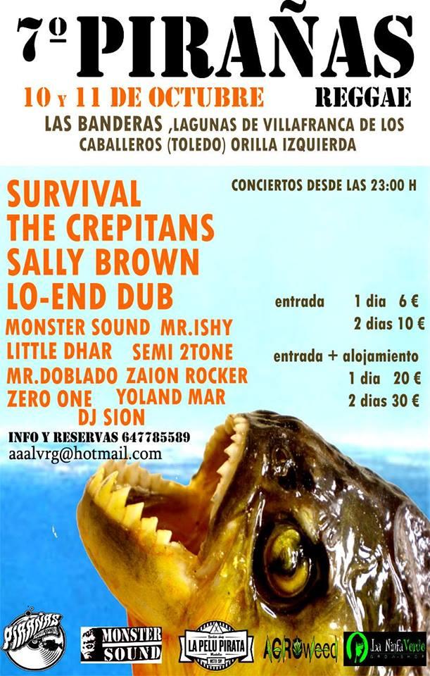 Pirañas Reggae 7