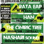 AGENDA: Pull Up Tour con Rata EAP + Han + Nasharï Sound + The Oniric Tree. Ven a precio reducido con tu ACR Card