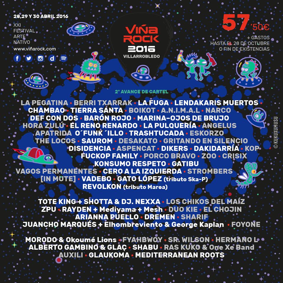 Viña-Rock-2016-Segunda-tanda