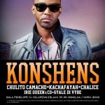 ÚLTIMA HORA: Konshens da la cara. Nuevo concierto en Madrid ¡¡ Que no te engañen !!