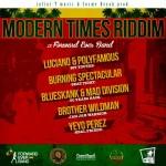 """""""Modern Times"""" es el nuevo riddim de Infini-T Music/Chalice y Cosme Deyah"""