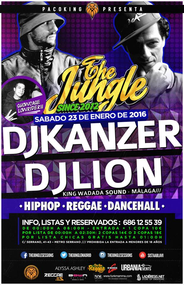 the jungle. enero16