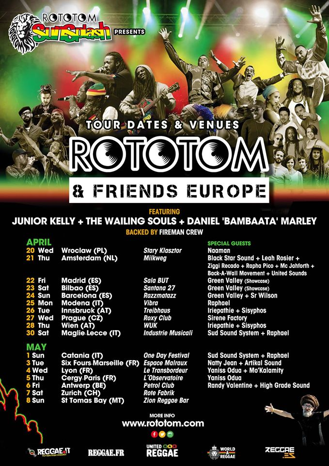 rototom euro tour
