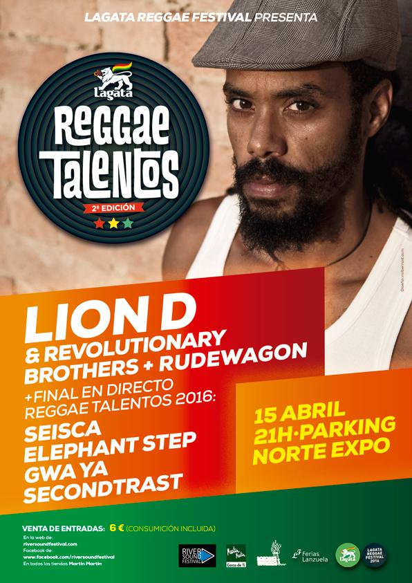Lagata Reggae Talentos 2e