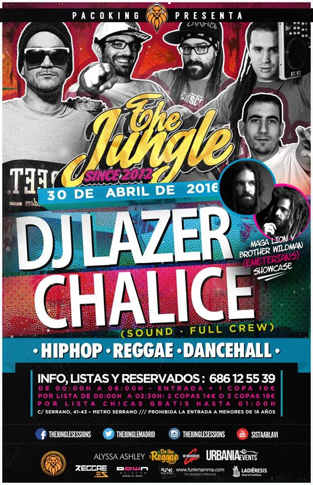 djlazer 30 abril jungle
