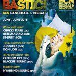 Jugglerz, Chukki Starr, Rebelmadiaq en la programación de Junio de Boombastic Club