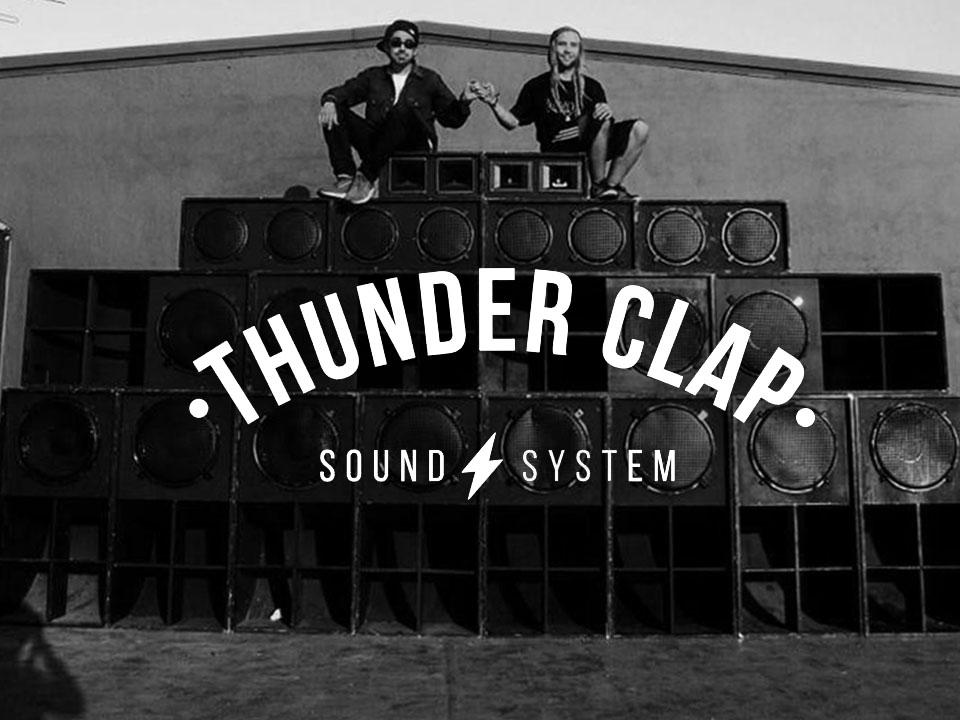 thunder clap aniversario