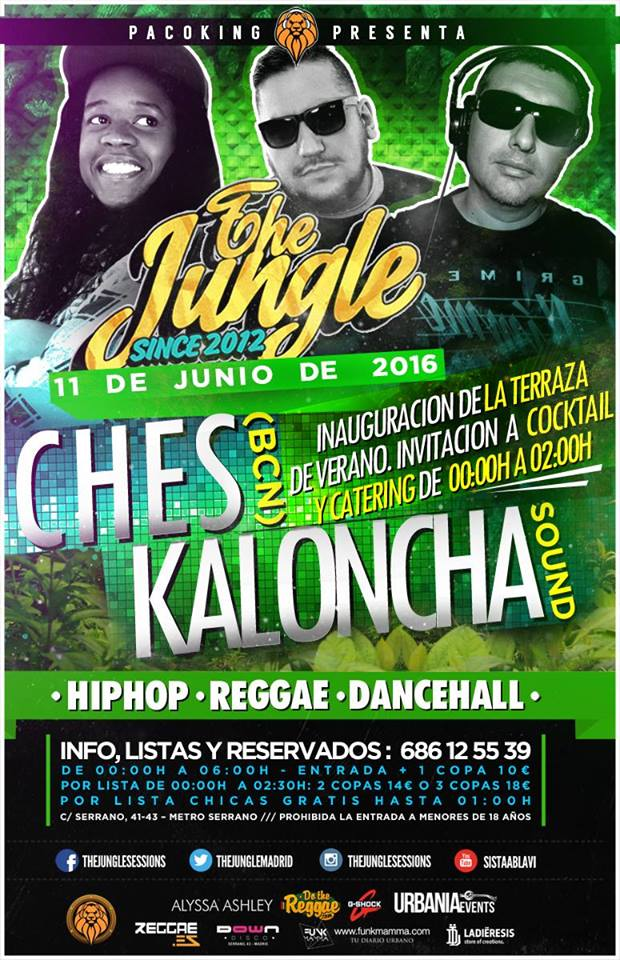 the jungle 11 de Junio