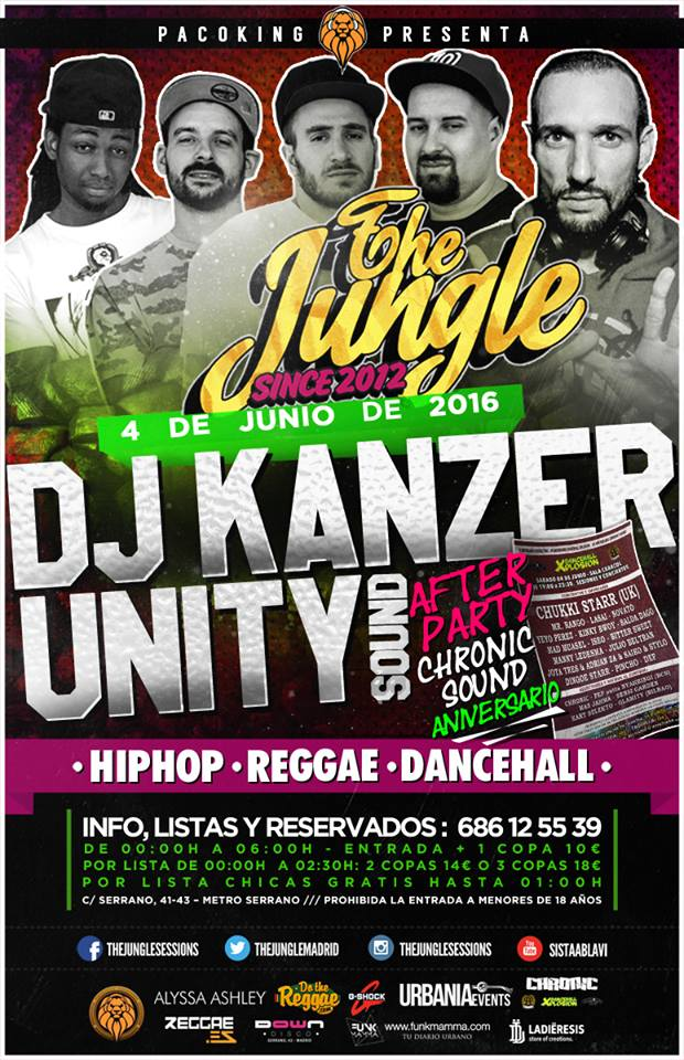the jungle session 4 de Junio