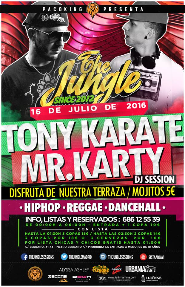 the jungle 16 de julio