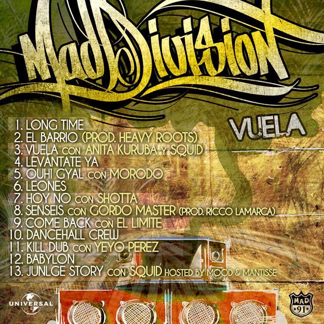 vuela_maddivision_tracklist