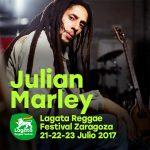 Julian Marley inaugura el cartel de la 14ª edición de Lagata Reggae