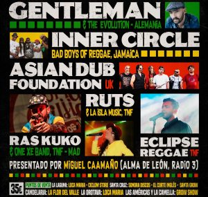 Asian Dub Foundation y Gentleman, los sonidos del Feeling Festival de Tenerife